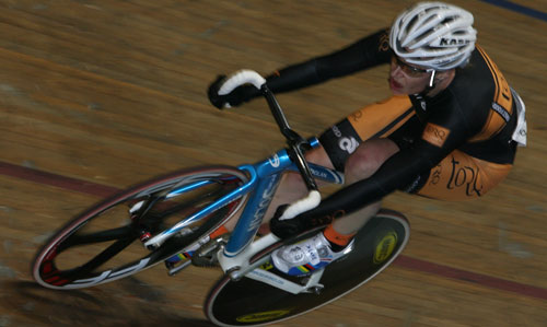 Janet Birkmyre solos to a win at the World Masters