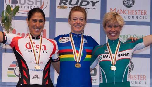 Points race podium