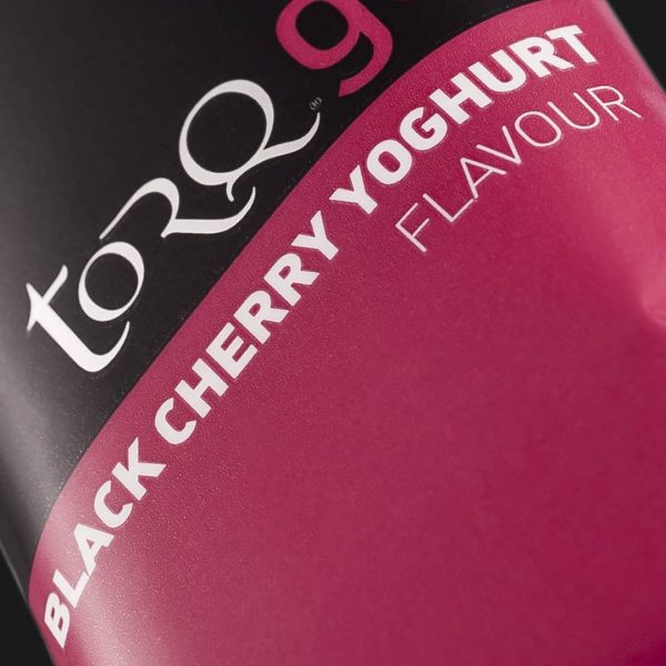 TORQ Black Cherry Yoghurt Energy Gel