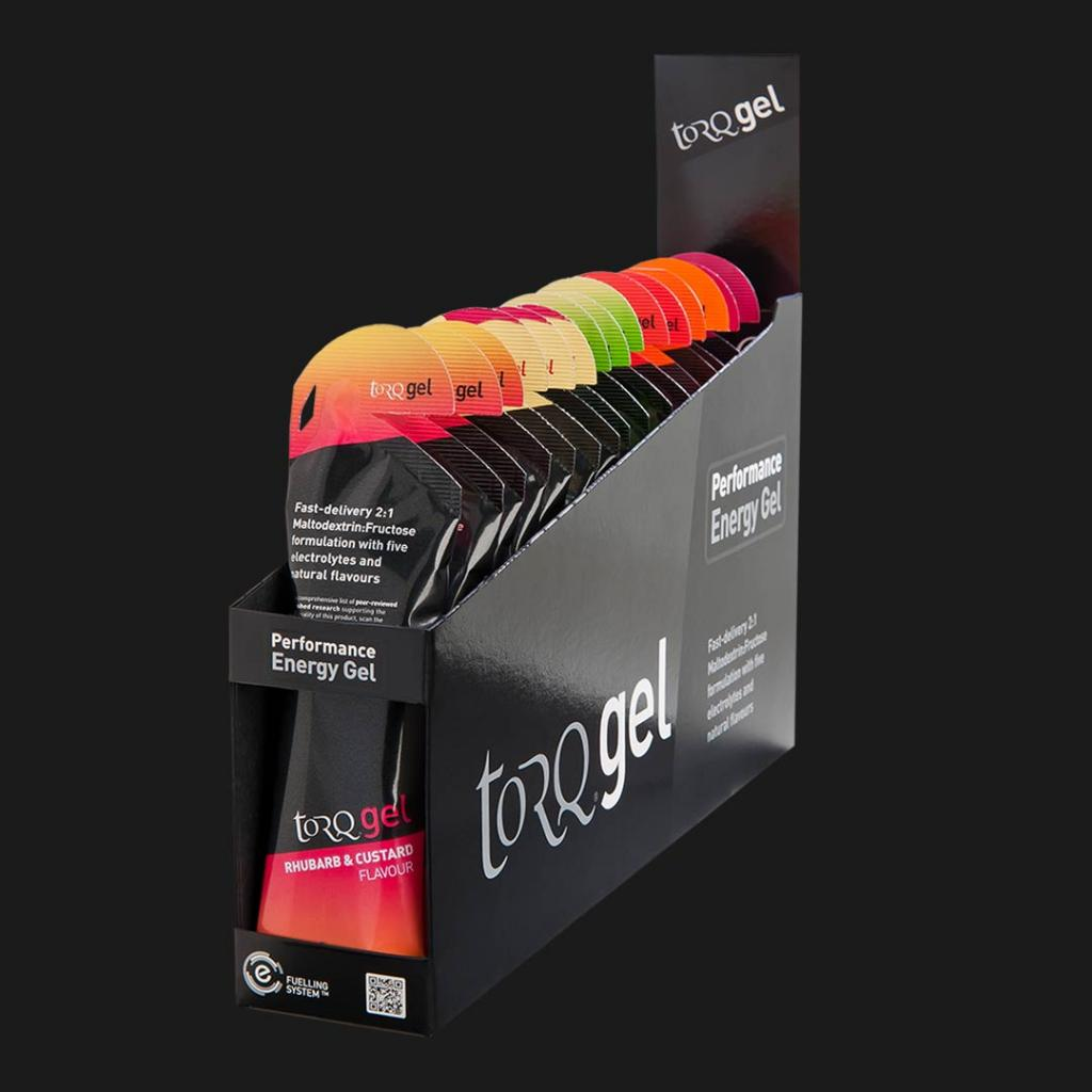 TORQ Build Box of Energy Gels