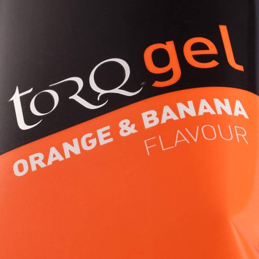 TORQ Orange & Banana Energy Gel