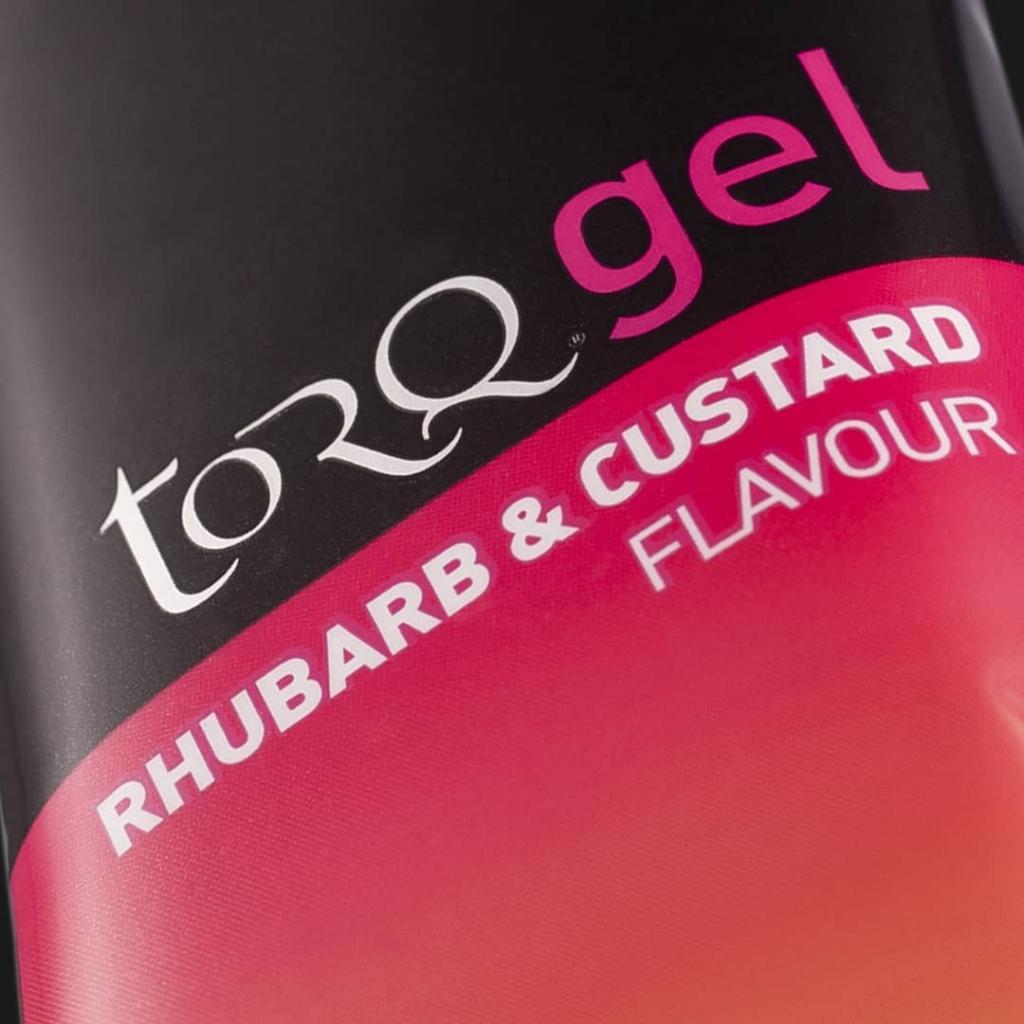 TORQ Rhubarb & Custard Energy Gel