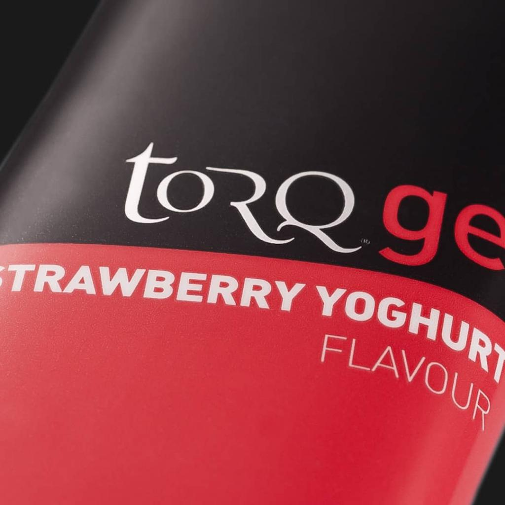 TORQ Strawberry Yoghurt Energy Gel