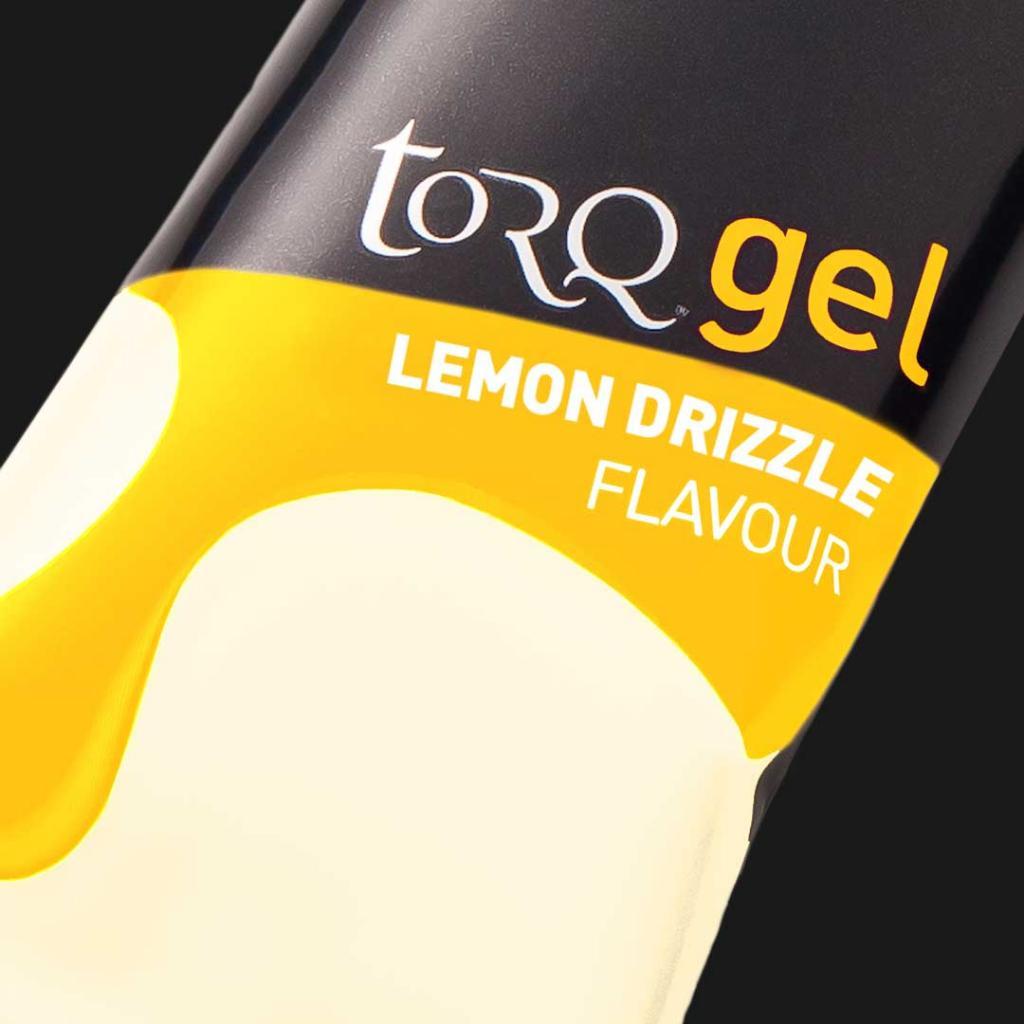 TORQ Lemon Drizzle Energy Gel