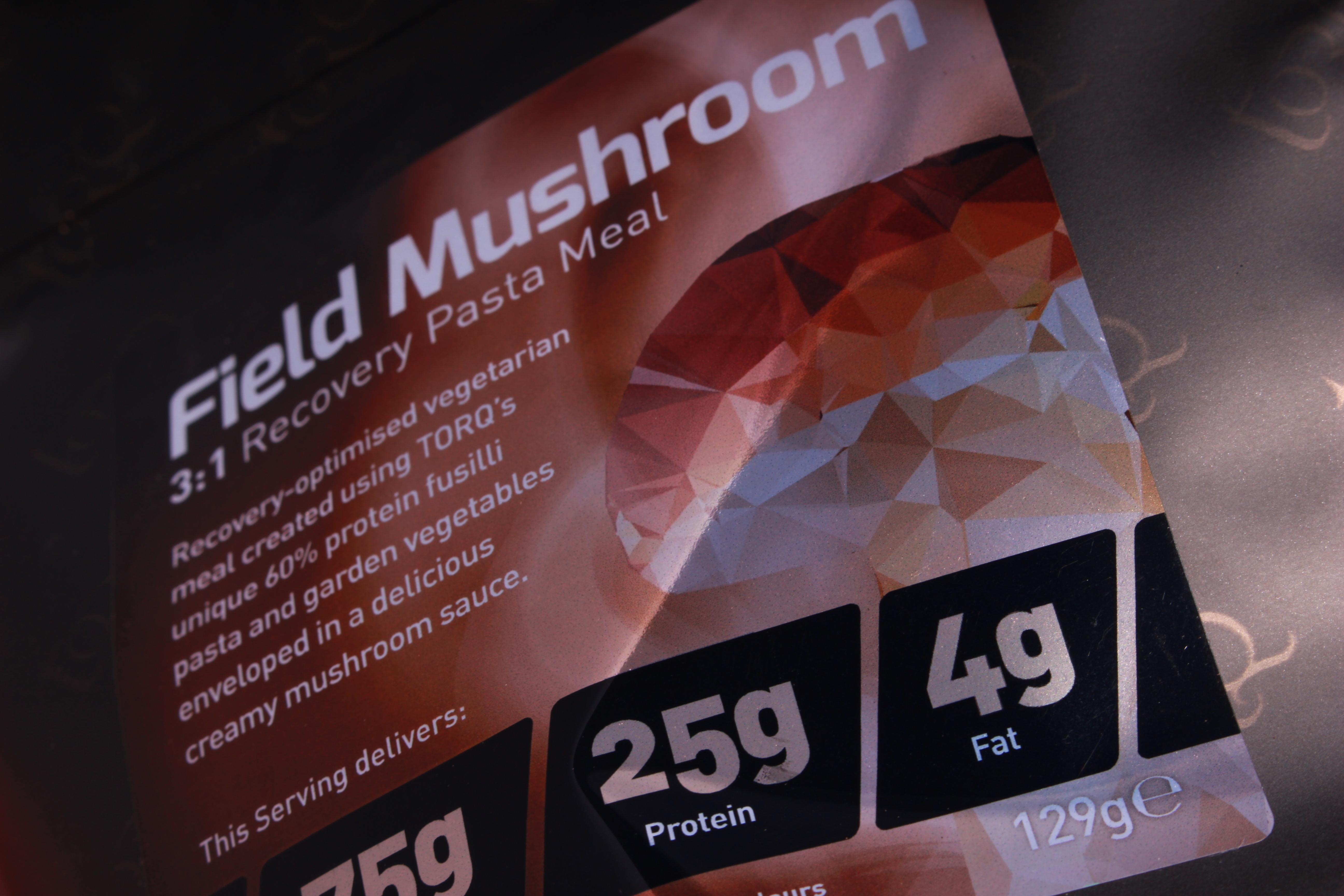 Field Mushroom 3:1 Label