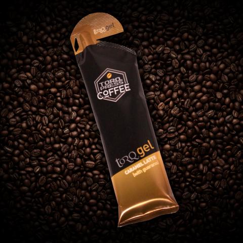 Caramel Latte TORQ Gel Coffee Beans