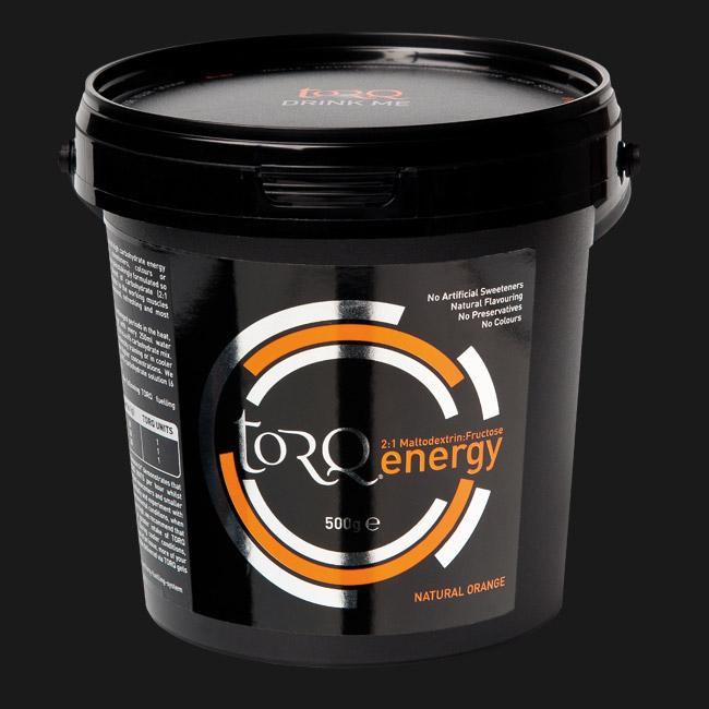 TORQ Orange Energy Drink 500g